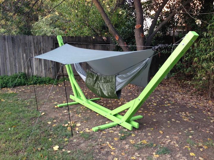 thanks hf  new hammock stand  u0026 hammock w  zippered bug    rh   hammockforums