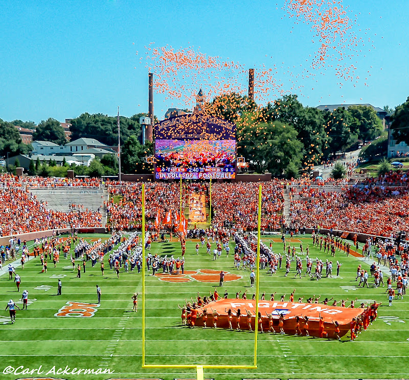 Clemson vs. SC State - Ackerman Photos - 2013, Football, SC State