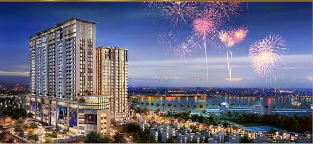 Phối cảnh dự án chung cư Sun Grand City Thuy Khue Residence