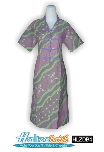 HLZDB4 Seragam Batik, Baju Dress, Dress Terbaru, HLZDB4