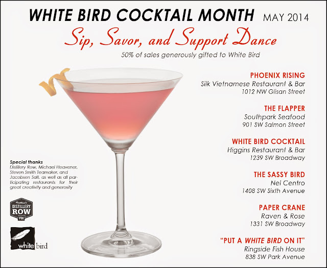 White Bird Cocktail Month May 2014