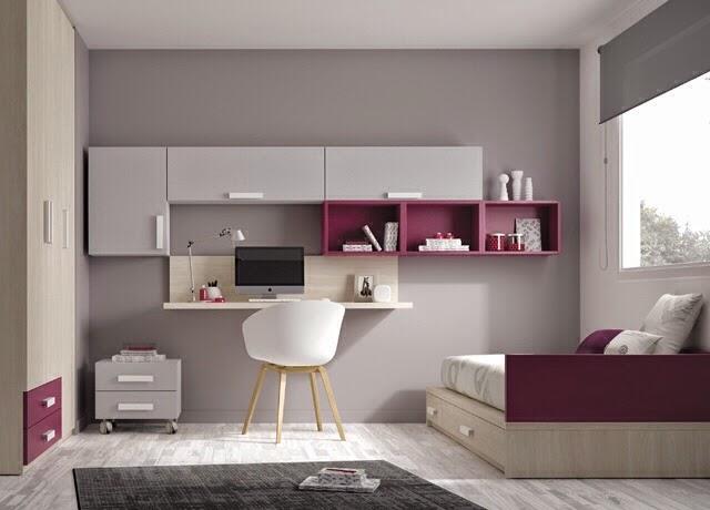 Dormitorios juveniles kids touch ros for Espejos para habitaciones juveniles