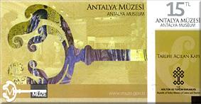 Entrada al Museo Arqueológico de Antalya – 15 TL