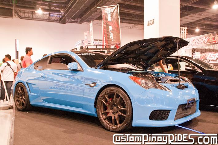 Hyundai Genesis Coupe Body Kit Designs by Atoy Customs 2012 Manila Auto Salon Custom Pinoy Rides pic19