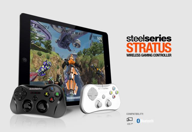 SteelSeries trình làng tay cầm chơi game Stratus 2