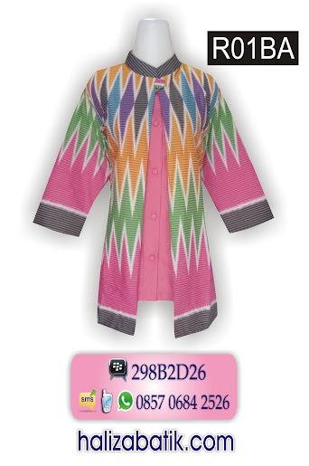 baju modern, model baju batik wanita terbaru, batik 2015