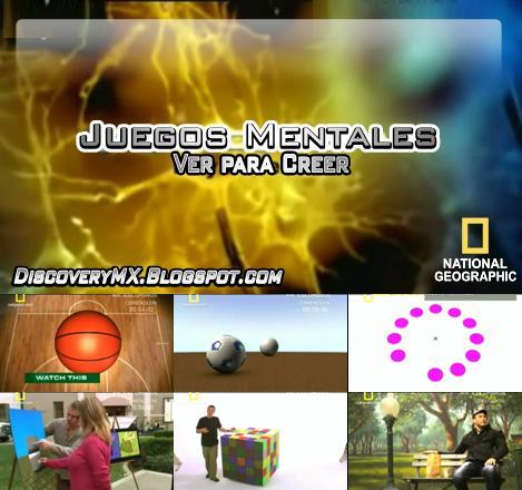 Discoverymx Documentales Tv Rip Natgeo Juegos Mentales 2 Ver