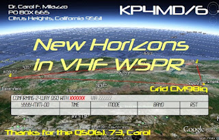KP4MD QSL Card