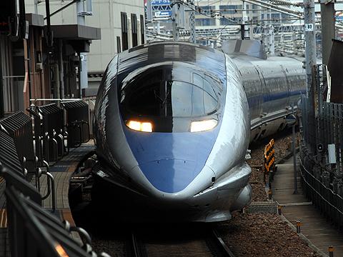 JR西日本 500系「のぞみ」 名古屋駅にて