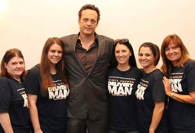 Vince Vaughn Interview: #DeliveryManEvent Bloggers Photo