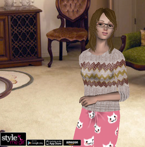 Style Me Girl Level 8 - Stella - Distraught