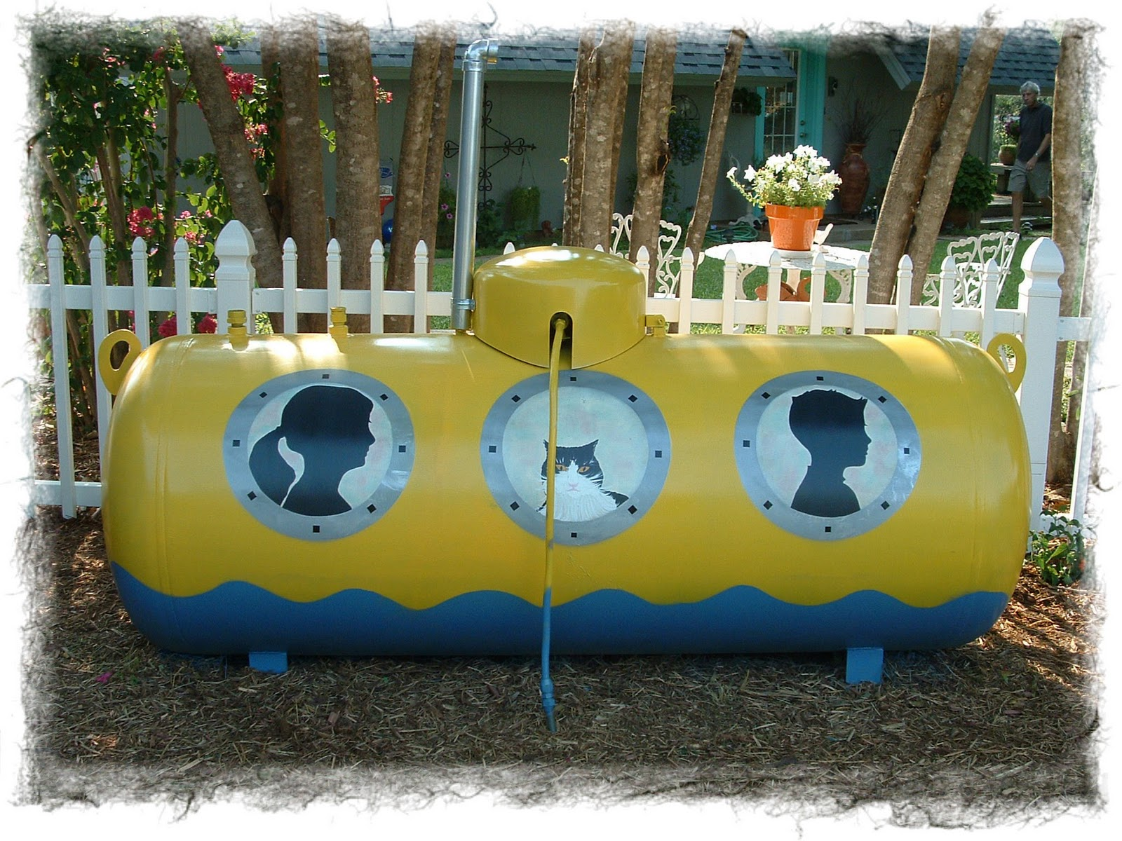 Another Painted Propane Tank