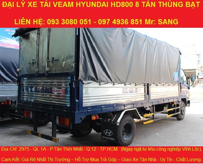 Ban xe hyundai 8 tan thung dai 5m1 xe tai hyundai 8 tan moi nhat