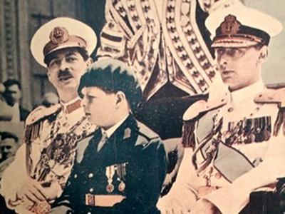 Expoziţia Familia Regală Română – în uniformă pentru totdeauna ajunge şi la Sinaia