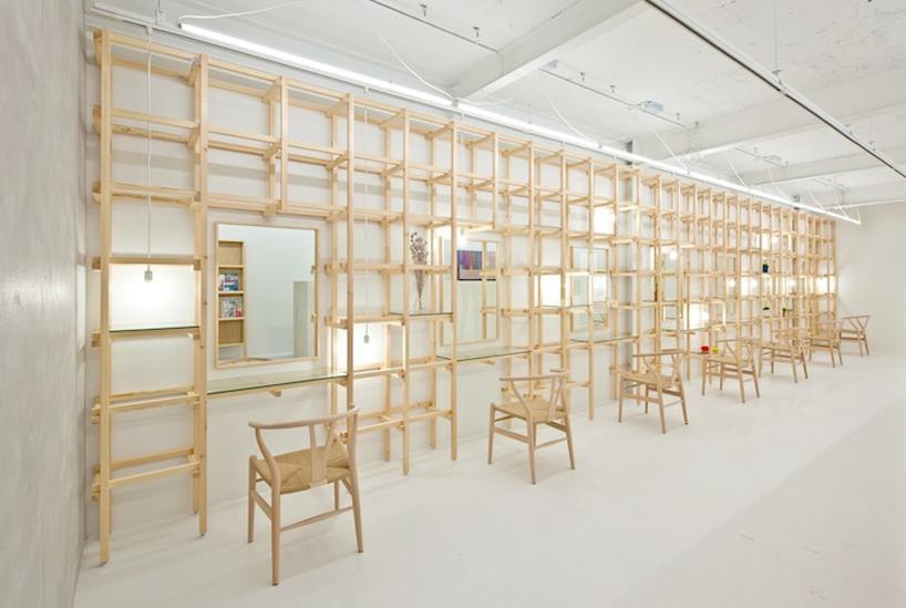 # end...Link 空間連結:Yasunari Tsukada在日本大阪的簡約木框架沙龍! 2
