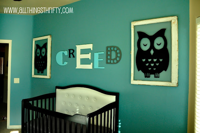 Baby Boy Nursery Completed!