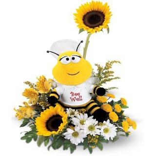 Send the Teleflora Bee Well Bouquet