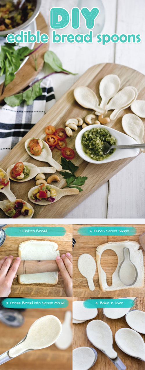DIY - learn to make edible spoons