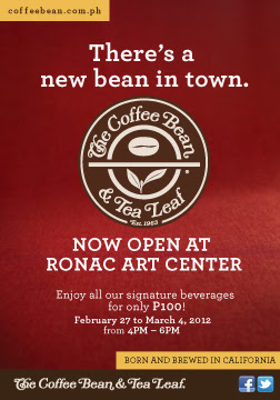 The Coffee Bean & Tea Leaf® Opens in Ronac Art Center
