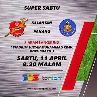 Keputusan Perlawanan Liga Super 18 4 2015