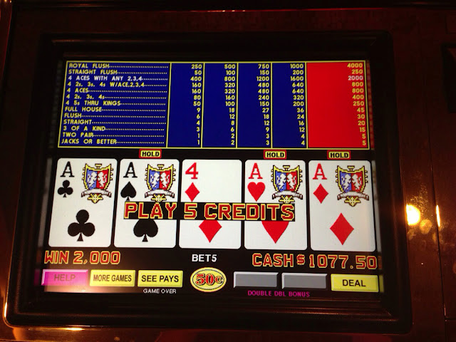 Aces with Kicker for $1000