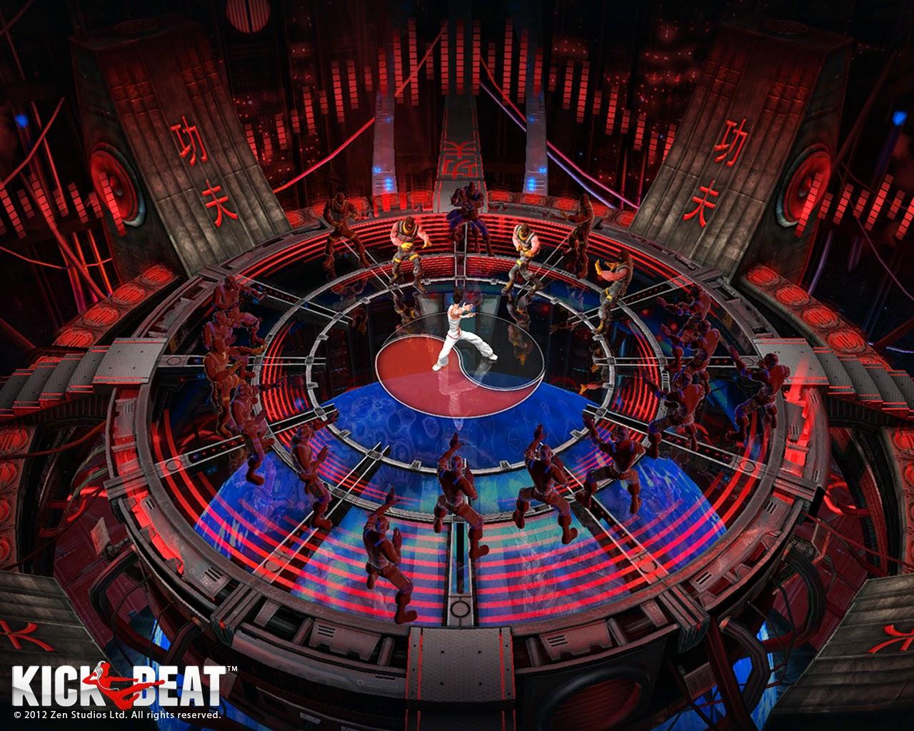 Loạt hình nền tuyệt đẹp của game âm nhạc KickBeat - Ảnh 4