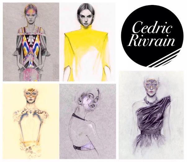 Cedric Rivrain Fashion Illustrator