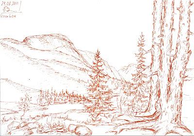 Хибины. Долина реки Тульйок. авг 2011