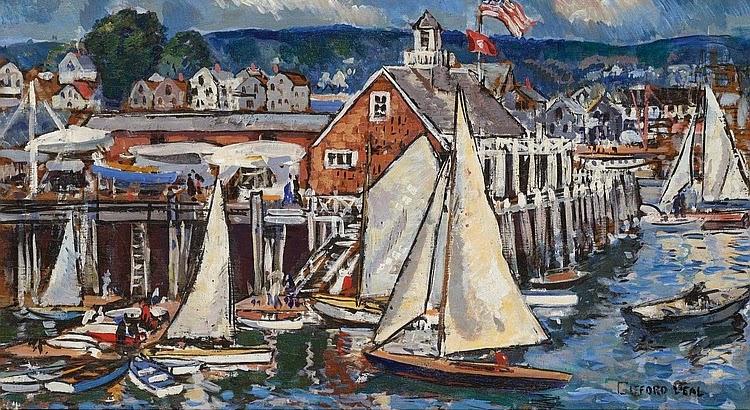Gifford Beal - Rockport Yacht Club