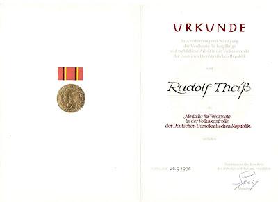 249c Medaille für Verdienste in der Volkskontrolle der Deutsche Demokratische Republik www.ddrmedailles.nl