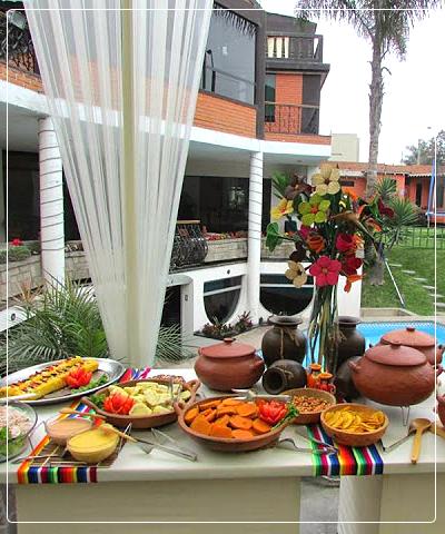 Sensational Buffet Criollo Hotel Restaurant Yeyas La Molina Lima Peru Home Interior And Landscaping Ponolsignezvosmurscom