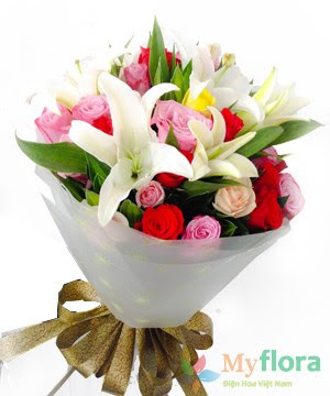 Bó hoa tươi Hạnh phúc