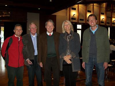 Ο Christian Sohm, ο Albert Müller, οι Jacques και Isabelle Guy και ο Martin Lair από το Τιρόλο