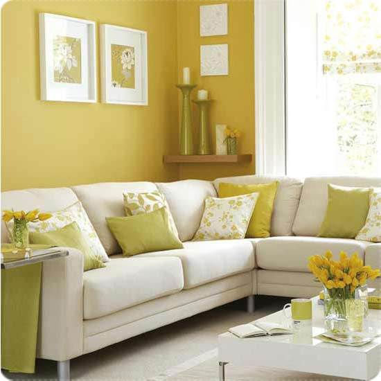 dekorasi menarik untuk ruang tamu