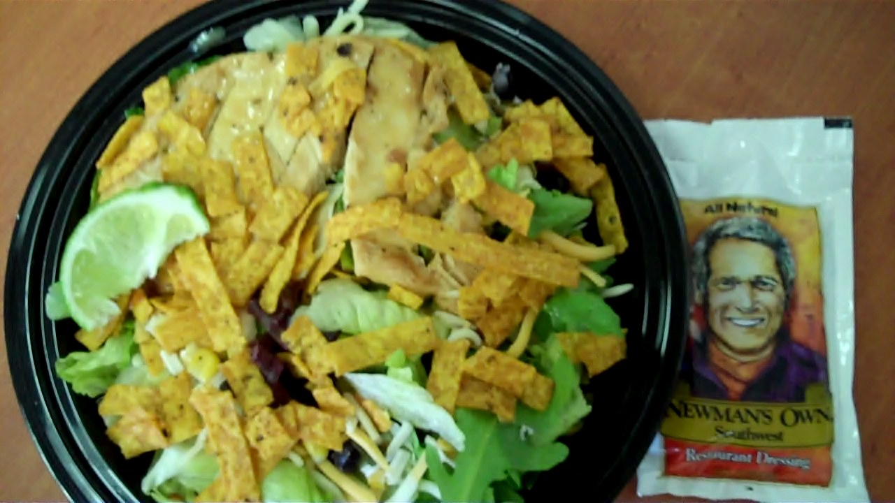 Mcdonalds Salad Dressing Salad From Mcdonald's