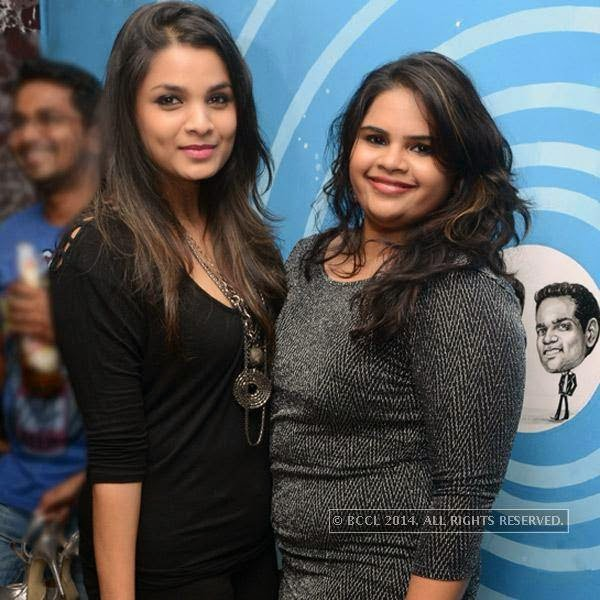Ishita and Vidyu clicked during a party organised at Small World pub in Chennai.
