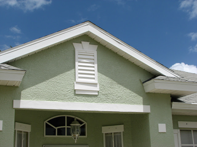 Next We Primed And Painted The Entire Exterior Of This Cocoa Home With Two  Coats Of Richards Exterior Paint.