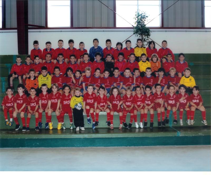A.D.R. Numancia de Ares. Categorías Fútbol-7 2006-2007 Biberóns - Prebenxamíns - Benxamíns - Alevíns Pavillón de Ares