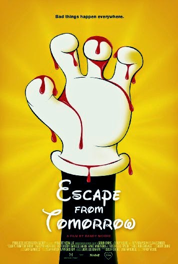 Poster Of English Movie Escape from Tomorrow (2013) Free Download Full New Hollywood Movie Watch Online At Alldownloads4u.Com