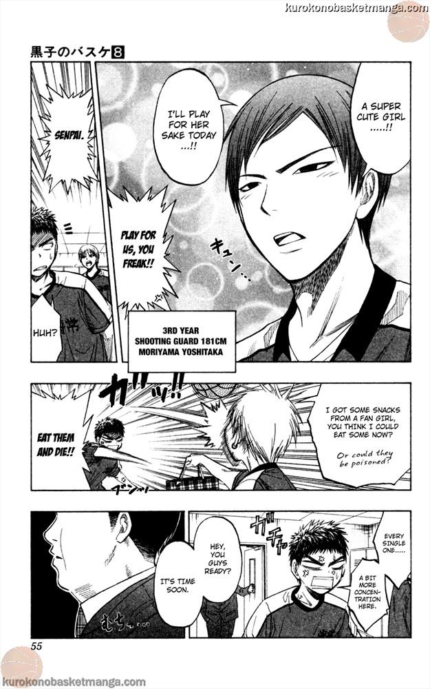 Kuroko no Basket Manga Chapter 63 - Image 9