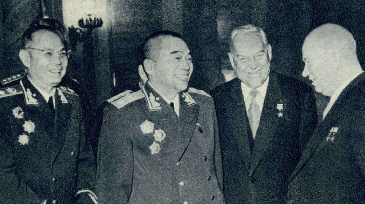 Прием у Хрущева