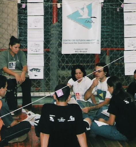 Reunião do CEA, no início da década 2000