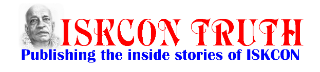 ISKCON TRUTH Sitemap