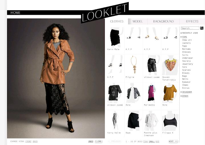 Diseños de look