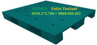 Pallet nhựa mở hàng nặng nhập khẩu