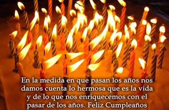 Frase de cumpleaños para enviar por facebook