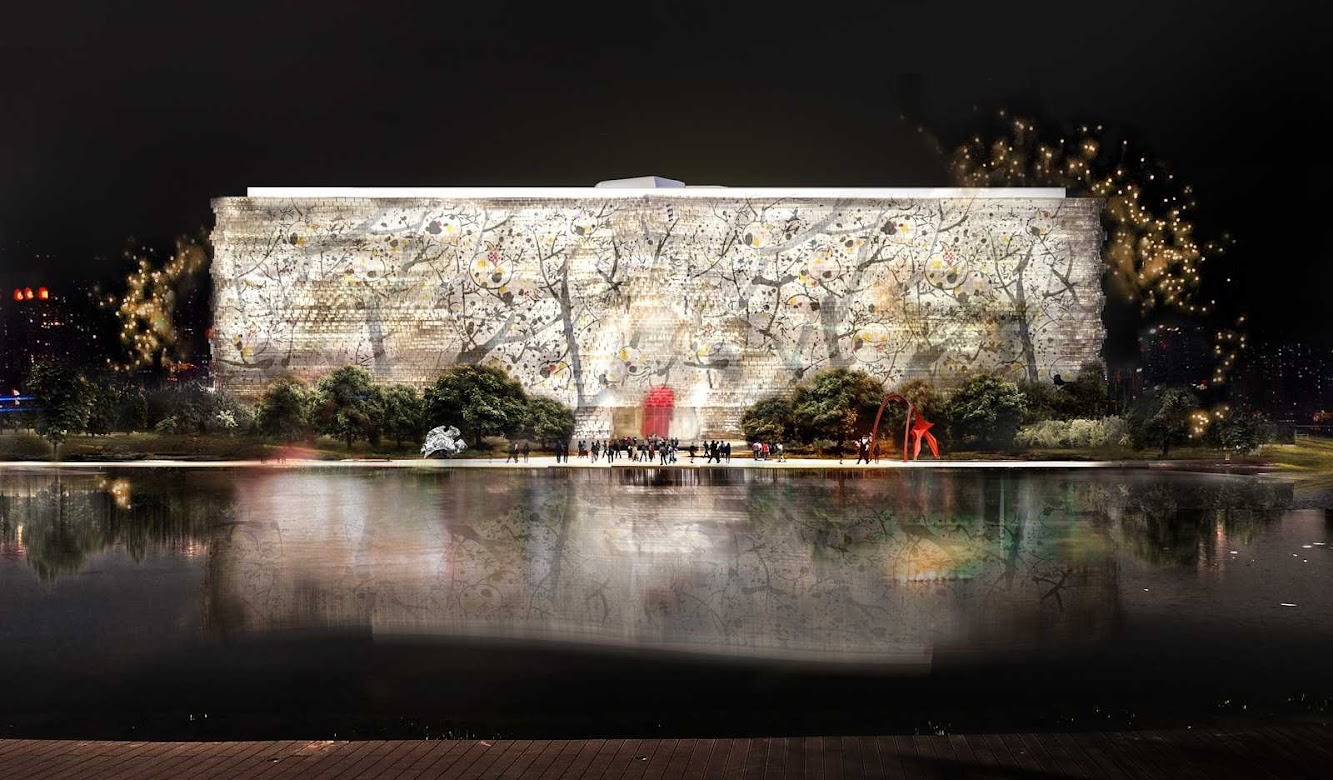 Pechino, Cina: Jean Nouvel Wins National Art Museum of China Competition