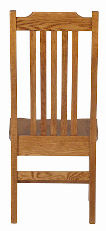 Mission Dining Chair in Medium Oak