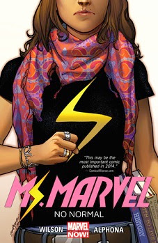 Ms Marvel Vol 1: No Normal by G. Willow Wilson and Adrian Alphona
