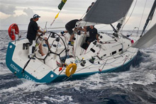 J/122 Otra Vez- sailing Rolex Middle Sea Race off Malta